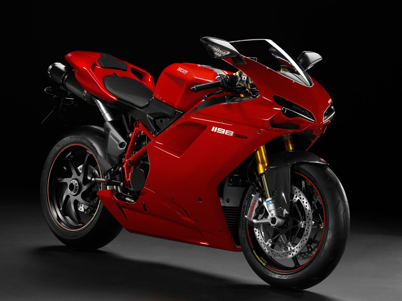 You see, Ducati builds things like this, the 1198 SP