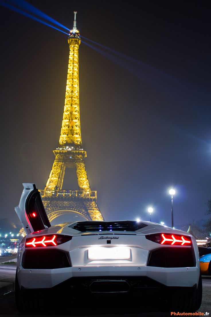 Lamborghini Aventador In Paris France